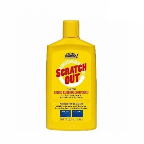 Formula 1 Scratch Out Rubbing Compound Polish 207ml
