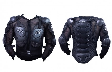Fox Riding Gear Body Armor Jacket for Bike / Two Wheeler Driving-M(38)