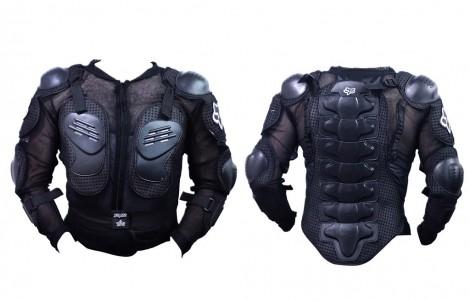 Fox Riding Gear Body Armor Jacket for Bike / Two Wheeler Driving-L(40)